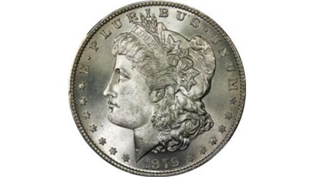 Morgan Dollar Obverse