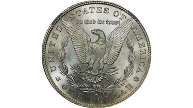 1879 Morgan Dollar Reverse