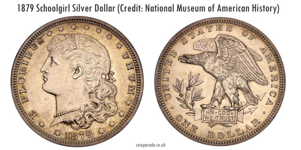 1879 Schoolgirl Dollar