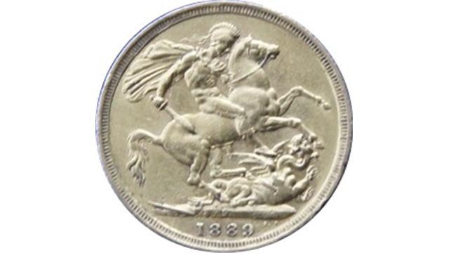 1889 Crown Reverse