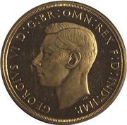 1937 George VI £5 pounds. Image: M J Hughes Coins.