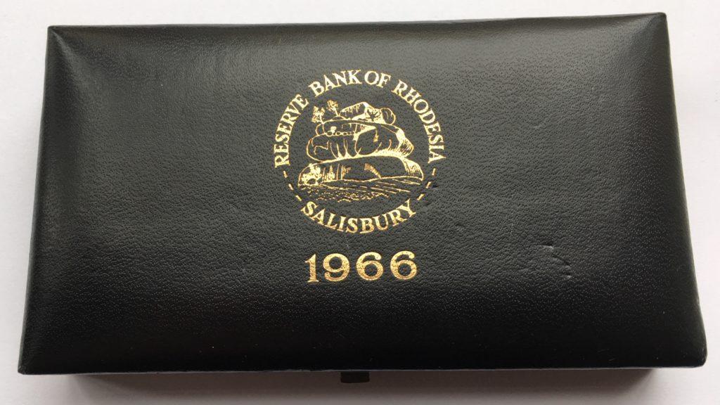 1966 Rhodesia Gold Set Box