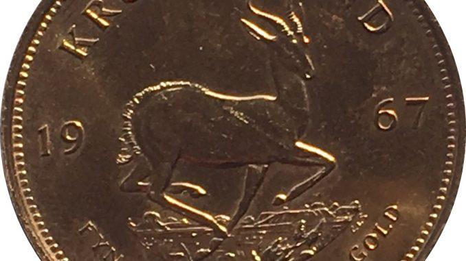 1967 Krugerrand Reverse