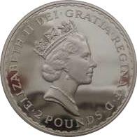 1997 Silver Britannia Obverse