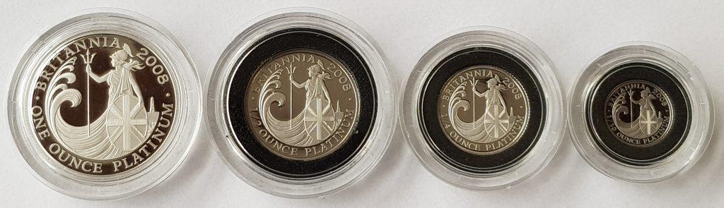 2008 Platinum Britannia Set Reverse