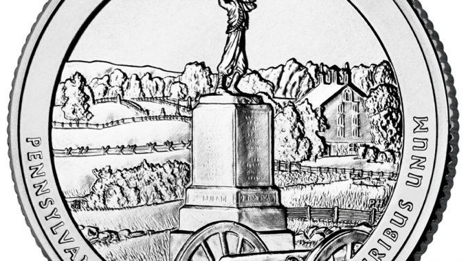 2011 Quarter Gettysburg Pennsylvania Reverse
