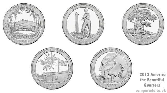 2013 America the Beautiful Quarters Program