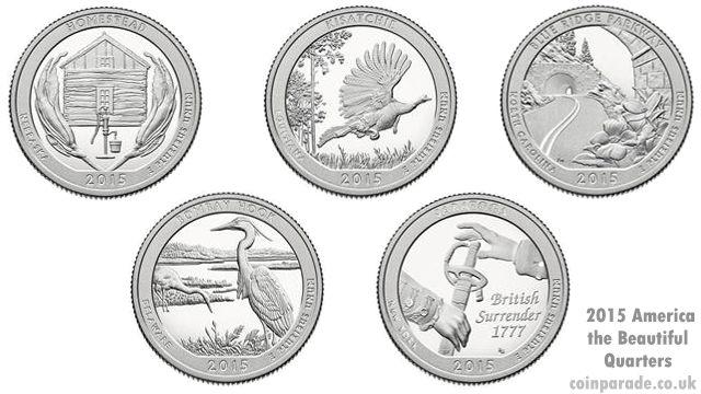 2015 America the Beautiful Quarters Program