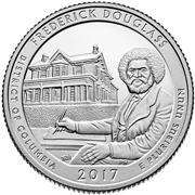 2017 Frederick Douglass National Historic Site Proof Quarter