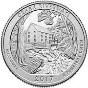 2017 Ozark National Scenic Riverways Proof Quarter