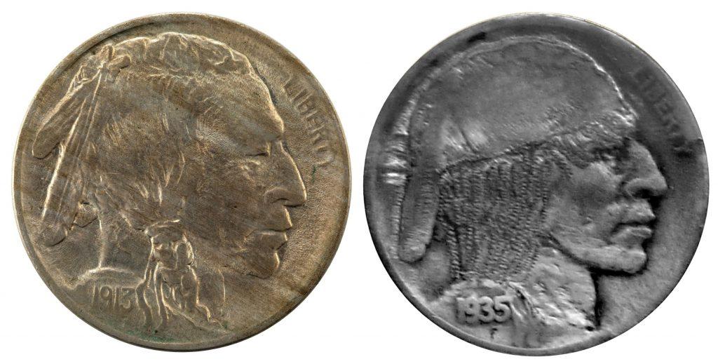 Buffalo Nickel to Hobo Nickel