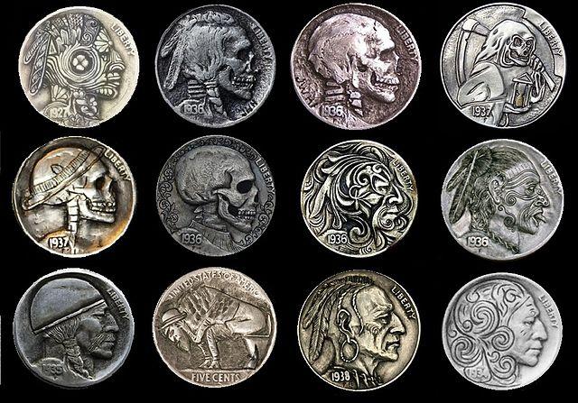 Buffalo Hobo Nickels attrib-Danthoms