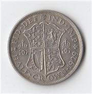 1929 Half Crown Reverse