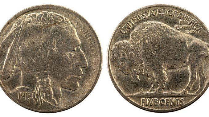 Type II Buffalo Nickel