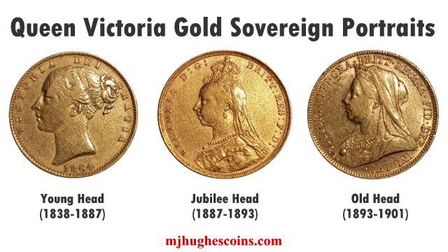 Queen Victoria Heads