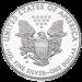 Silver Eagle Liberty $1 Reverse