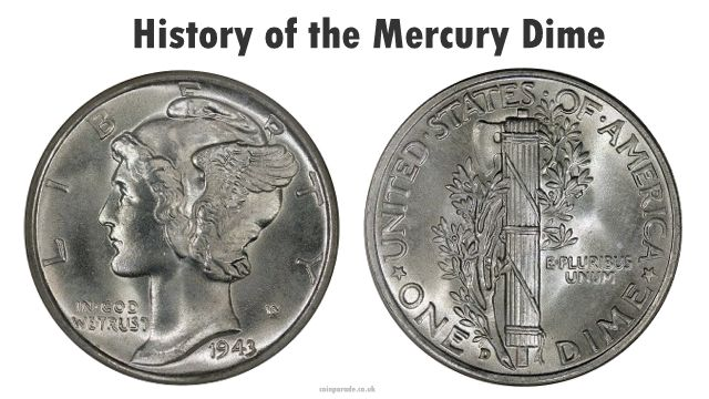 NGC MS 65 Full Bands 1942 D Mercury Dime